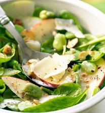 Salade épinard et figue au Miel de Paris